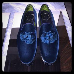 c9a1926e82b Tom Ford Shoes - TOM FORD VELVET TASSEL Evening Shoes 9.5US